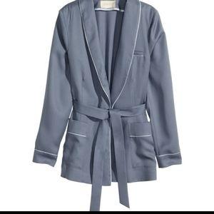 H&M blue blazer